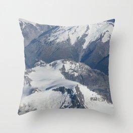 Long White Cloud Scape. Throw Pillow