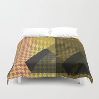 triangle Duvet Covers featuring Triangle** by Mr and Mrs Quirynen