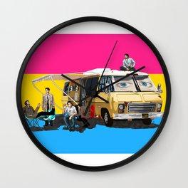 Pansexual GISHBUS Wall Clock