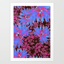 Vivacious in your Face. Art Print