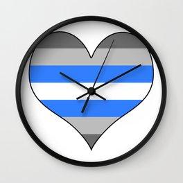 Demiboy Heart Wall Clock