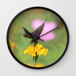 Swallow Tail Dream Wall Clock