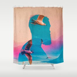 Expectations Of Reality Shower Curtain