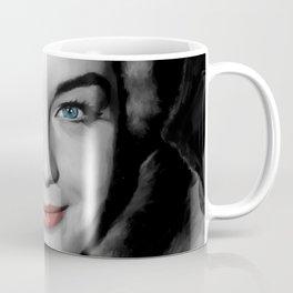 Romy Schneider Large Size Portrait Coffee Mug