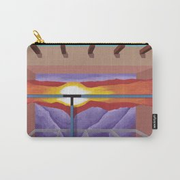 House of the Sun Cloud Carry-All Pouch