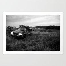 Rover Wilds  Art Print
