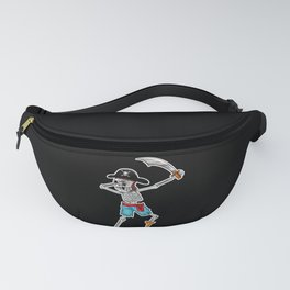 Dabbing Skeleton And Monsters Pirate Fanny Pack