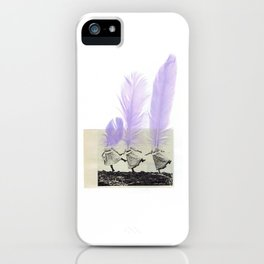 Heads flew away iPhone Case