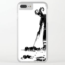 The Trash picker Clear iPhone Case