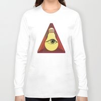 "illuminati Long Sleeve T-shirts featuring ""Illuminati"" bulb by Oh! My darlink"