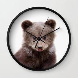 Baby Bear Cub Wall Clock