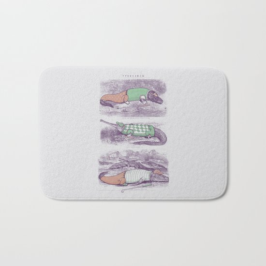Golf Buddies Bath Mat
