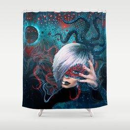 Darina Frein - Spiritual Practician Shower Curtain