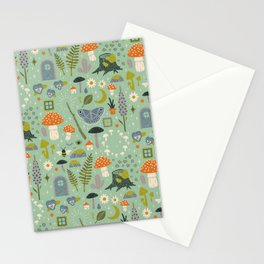 Fairy Garden Stationery Cards