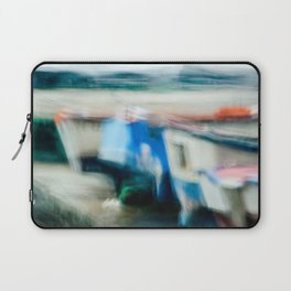Boats Painting Laptop Sleeve