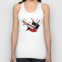 kandinsky Tank Tops featuring STARSHIP by THE USUAL DESIGNERS