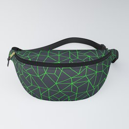 Green Lines Fanny Pack