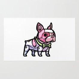 Pink Gorilla X Enfu Bulldog Mech  Rug