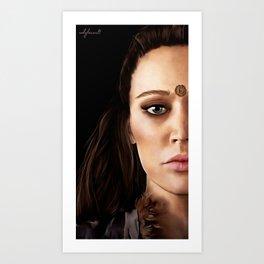 Lexa Painting Art Print