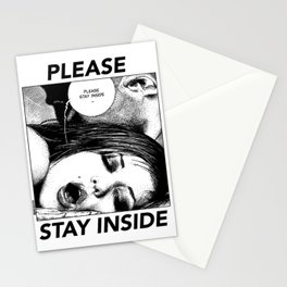 asc 949 - Les intimes #1 (Please stay inside #1)  Stationery Cards
