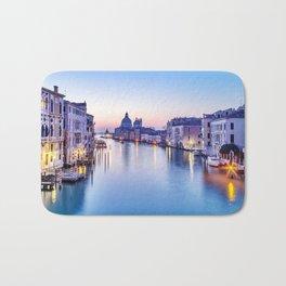 Dusk in Venice, Italy Bath Mat