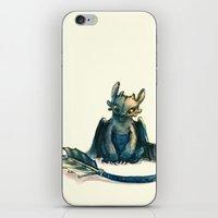 toothless iPhone & iPod Skins featuring Toothless by Alice X. Zhang