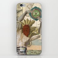 atlas iPhone & iPod Skins featuring Atlas by DIVIDUS