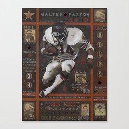 Walter Peyton Canvas Print