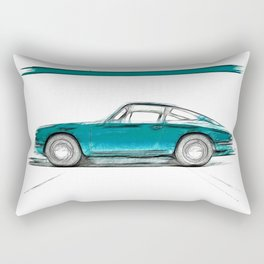 Porsche 911 / V Rectangular Pillow