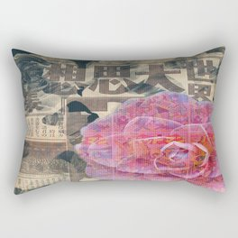 Camellia Comics Rectangular Pillow