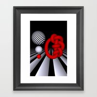 we stick together, no matter what Framed Art Print