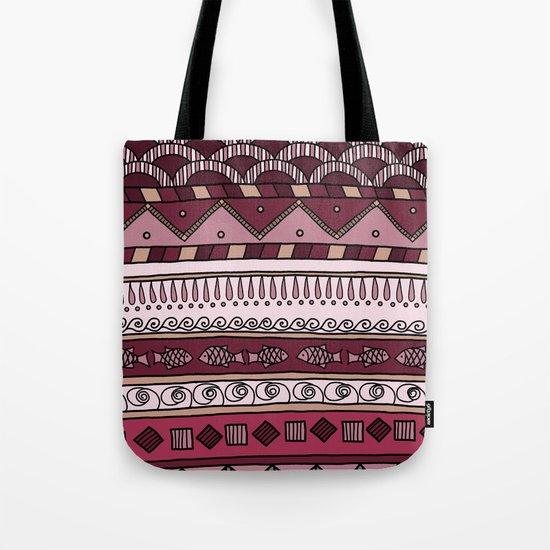 Yzor pattern 004 lilac Tote Bag