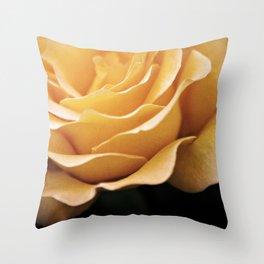 Lady Rowena- Golden Rose  Throw Pillow
