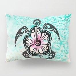 Hibiscus Turtle Pillow Sham