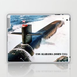 USS ALABAMA (SSBN-731) Laptop & iPad Skin