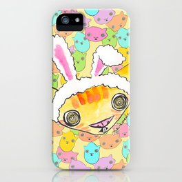 """""""Oro?"""" Easter Bunny iPhone Case"""