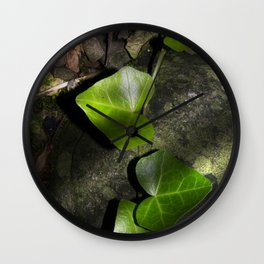 The green of the forest Wall Clock