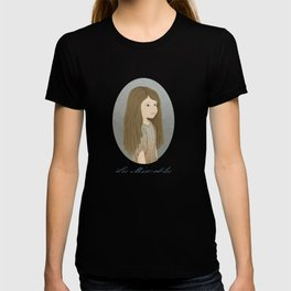 Portrait of Cosette from Les Misérables T-shirt