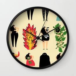 All of us live here Wall Clock