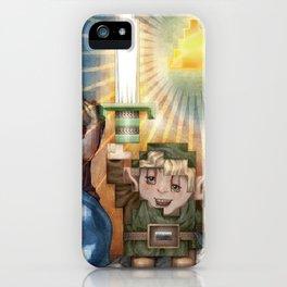 IRL Zelda Link iPhone Case