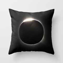Diamond Ring Bling Throw Pillow