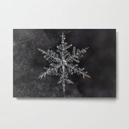 January Snowflake #6 Metal Print