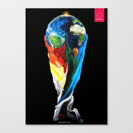 Our Trophy Canvas Print