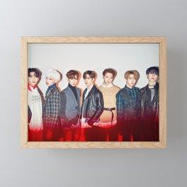 GOT7 Never Ever Poster Framed Mini Art Print