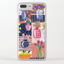 Painterly Painting Clear iPhone Case