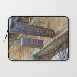 New Orleans Jazz Club Laptop Sleeve