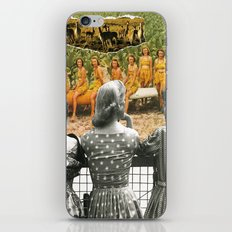 I Don't Know About You, But I Feel Like We're Always Being Watched iPhone & iPod Skin