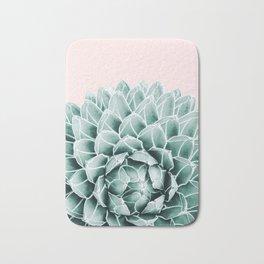 Succulent splendour - blush Bath Mat