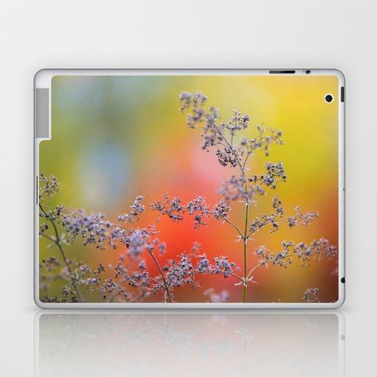 Flowers in autumn Laptop & iPad Skin