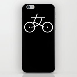 Kanji Bicycle iPhone Skin